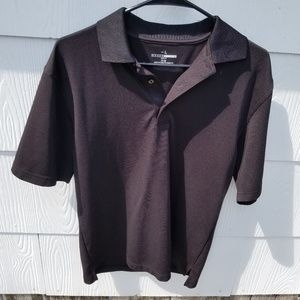Grand Slam Black Dri-Fit Polo